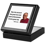 Dalai Lama 7 Keepsake Box