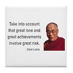 Dalai Lama 7 Tile Coaster