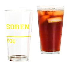 Cute Soren Drinking Glass