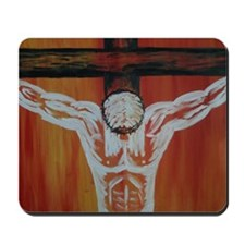"""Crucifixion"" Mousepad"