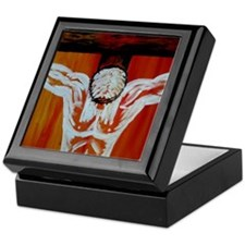"""Crucifixion"" Keepsake Box"
