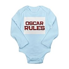Cute Oscar Long Sleeve Infant Bodysuit