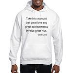 Dalai Lama Text 7 Hooded Sweatshirt