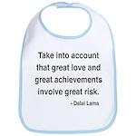 Dalai Lama Text 7 Bib