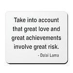 Dalai Lama Text 7 Mousepad
