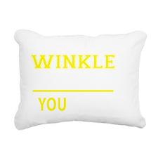 Cute Winkle Rectangular Canvas Pillow