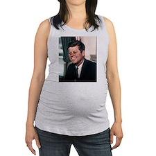 john f kennedy Maternity Tank Top