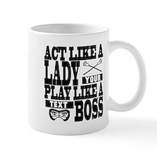 Lacrosse Lady Boss Custom Mug