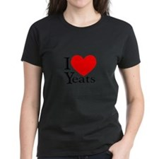 I Love Yeats Women's Pastel T-Shirt