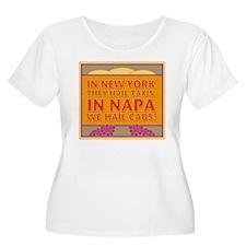 New! Napa We Hail Cabs  T-Shirt