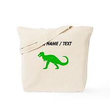 Green T-Rex (Custom) Tote Bag