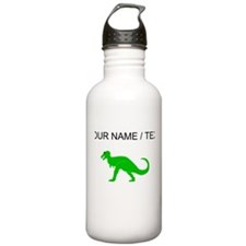 Green T-Rex (Custom) Water Bottle