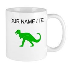 Green T-Rex (Custom) Mugs