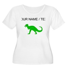Green T-Rex (Custom) Plus Size T-Shirt
