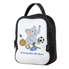 Personalized Sports - Elephant Neoprene Lunch Bag