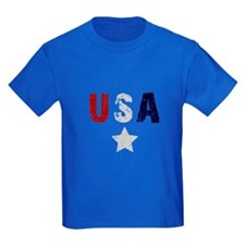 USA kids shirts T