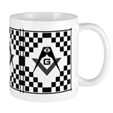 Masonic Tiles - Checkers Mug