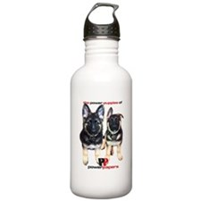 Power Papers Puppies Water Bottle