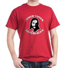 Jesus Votes Republican T-Shirt