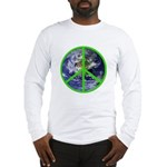 Earth Peace Symbol Long Sleeve T-Shirt