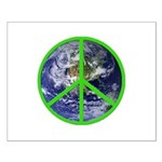 Earth Peace Symbol Small Poster