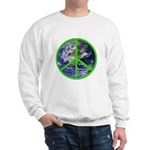 Earth Peace Symbol Sweatshirt