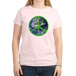 Earth Peace Symbol Women's Light T-Shirt