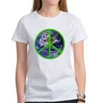 Earth Peace Symbol Women's T-Shirt