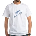 Blast Off White T-Shirt