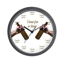 Time for a Beer Wall Clock