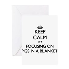 Keep Calm by focusing on Pigs In A Greeting Cards