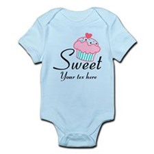 personalized Sweet Cupcake Body Suit