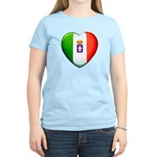 MY ITALIAN HEART T-Shirt