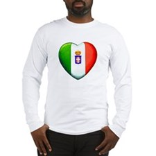 MY ITALIAN HEART Long Sleeve T-Shirt