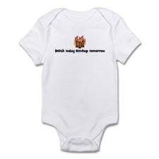 BBQ Fire: Relish today Ketchu Infant Bodysuit