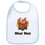BBQ Fire: Meat Man Bib