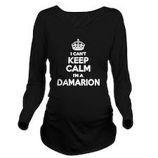 Cute Damarion Long Sleeve Maternity T-Shirt