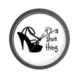 Shoe Thing Wall Clock