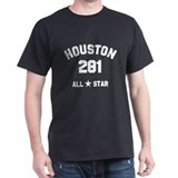 """HOUSTON 281 ALL-STAR"" T-Shirt"