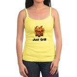 BBQ Fire: Just Grill Ladies Top