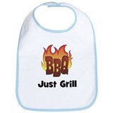 BBQ Fire: Just Grill Bib