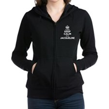 Cute Jacqueline Women's Zip Hoodie