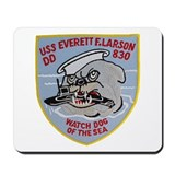 USS EVERETT F. LARSON Mousepad