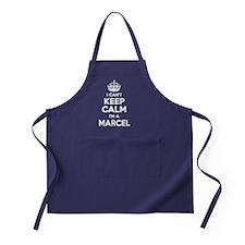 Funny Marcel Apron (dark)