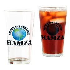 World's Sexiest Hamza Drinking Glass