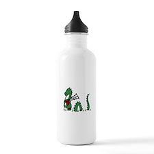 Loch Ness Monster Bagp Water Bottle