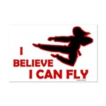 I Believe I Can Fly (Female) Mini Poster Print