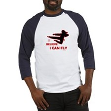 I Believe I Can Fly (Female) Baseball Jersey