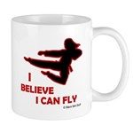 I Believe I Can Fly (Female) Mug