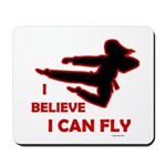 I Believe I Can Fly (Female) Mousepad